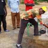 Il nuovo pozzo a Dakaye