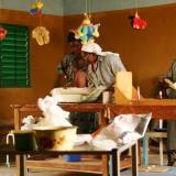 Come funziona l'ospedale di un paese africano?