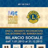 Non solo conti e numeri nel bilancio sociale 2013
