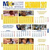 Un calendario nella rivista Lion